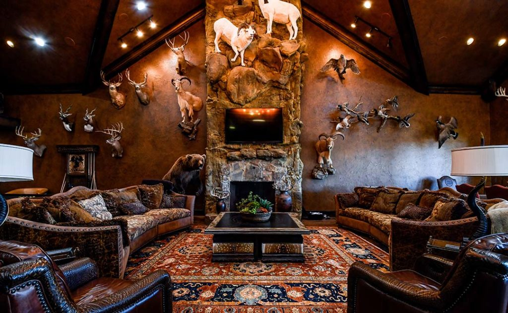 Relax in comfort at the ranch.