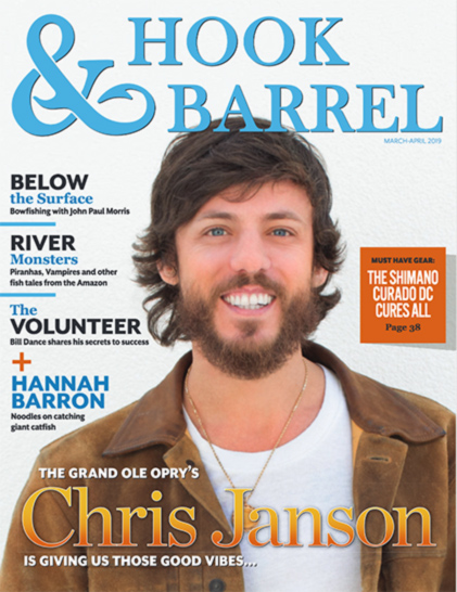 Hook and Barrel Cover Photo of Chris Janson