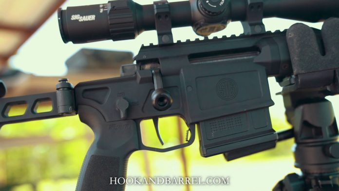 Sig Sauer Cross hybrid hunting precision rifle feature