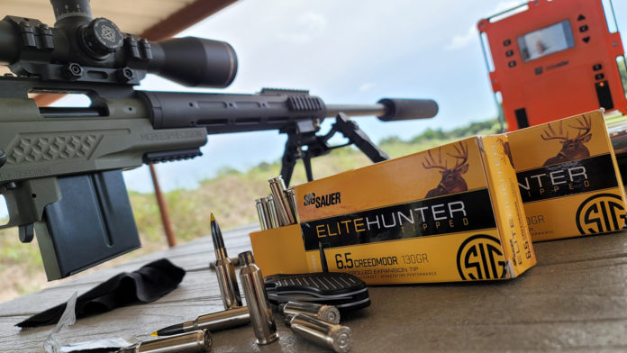 hook and barrel sig sauer 6.5 creedmoor elite hunter ammo feature
